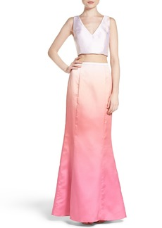 Laundry by Shelli Segal Two-Piece Gown