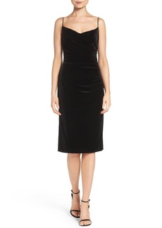 Laundry by Shelli Segal Velvet Slipdress