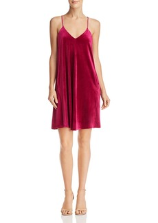 Laundry by Shelli Segal Velvet Trapeze Dress - 100% Exclusive