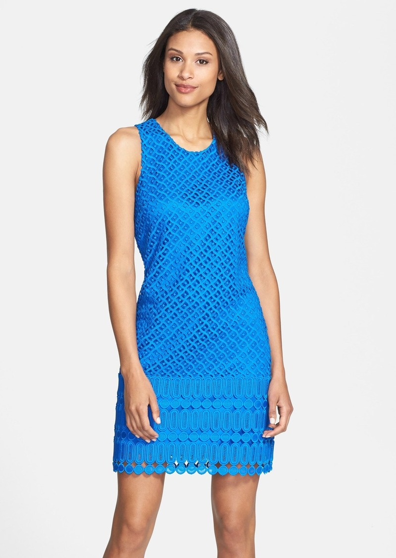 Laundry by Shelli Segal Venice Lace Racerback Sheath Dress