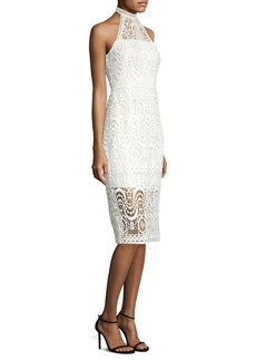 Laundry by Shelli Segal Venis Mock Neck Dress