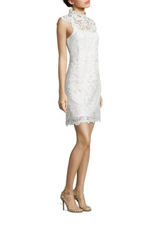 Laundry by Shelli Segal Venise Scalloped Lace Dress