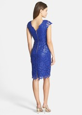 Laundry by Shelli Segal 'Venise' Scalloped Lace Dress