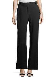 Laundry By Shelli Segal Wide Leg Cuff Pant