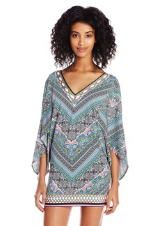 Laundry by Shelli Segal Women's Bohemian Tulip Tunic Cover up