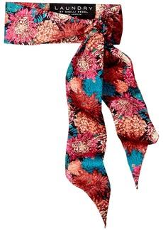 LAUNDRY BY SHELLI SEGAL Women's Chrysanthemum Necktie Scarf