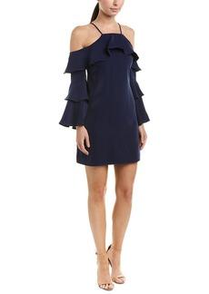 LAUNDRY BY SHELLI SEGAL Women's Cold Shoulder Dress