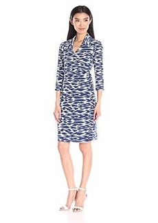 laundry BY SHELLI SEGAL Women's Cool Cat Wrap Dress