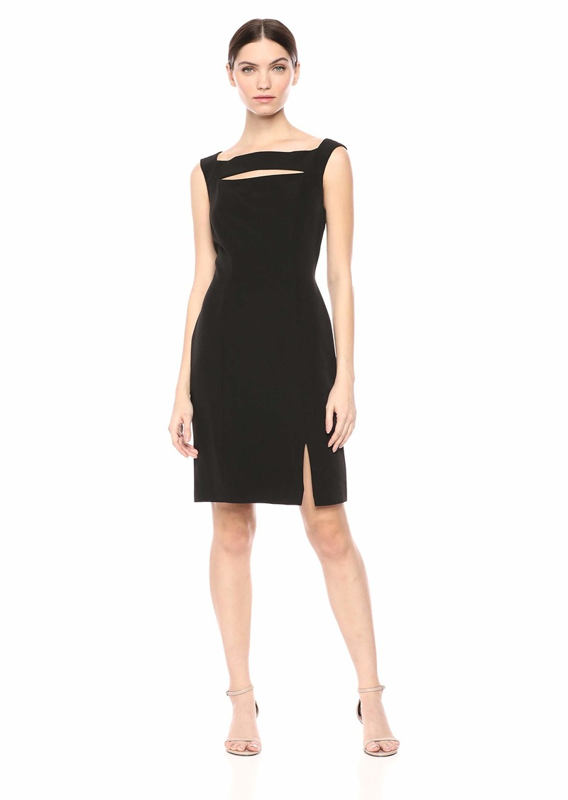 Laundry by Shelli Segal Women's Cut-Out Cocktail Dress