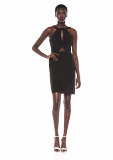 LAUNDRY BY SHELLI SEGAL Women's Double Cut Out Cocktail Dress