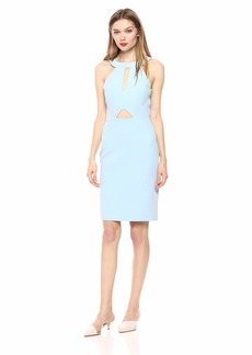 Laundry by Shelli Segal Women's Double Cut-Out Cocktail Dress