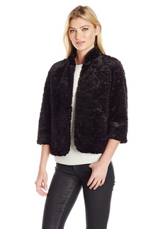 Laundry by Shelli Segal Women's Faux Fur Jacket