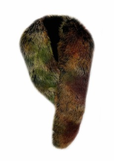 LAUNDRY BY SHELLI SEGAL Women's Faux Fur Scarf sycamore multi Onesize