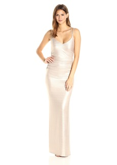Laundry by Shelli Segal Women's Foil Knit Gown