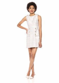 LAUNDRY BY SHELLI SEGAL Women's Geometric Print Dress