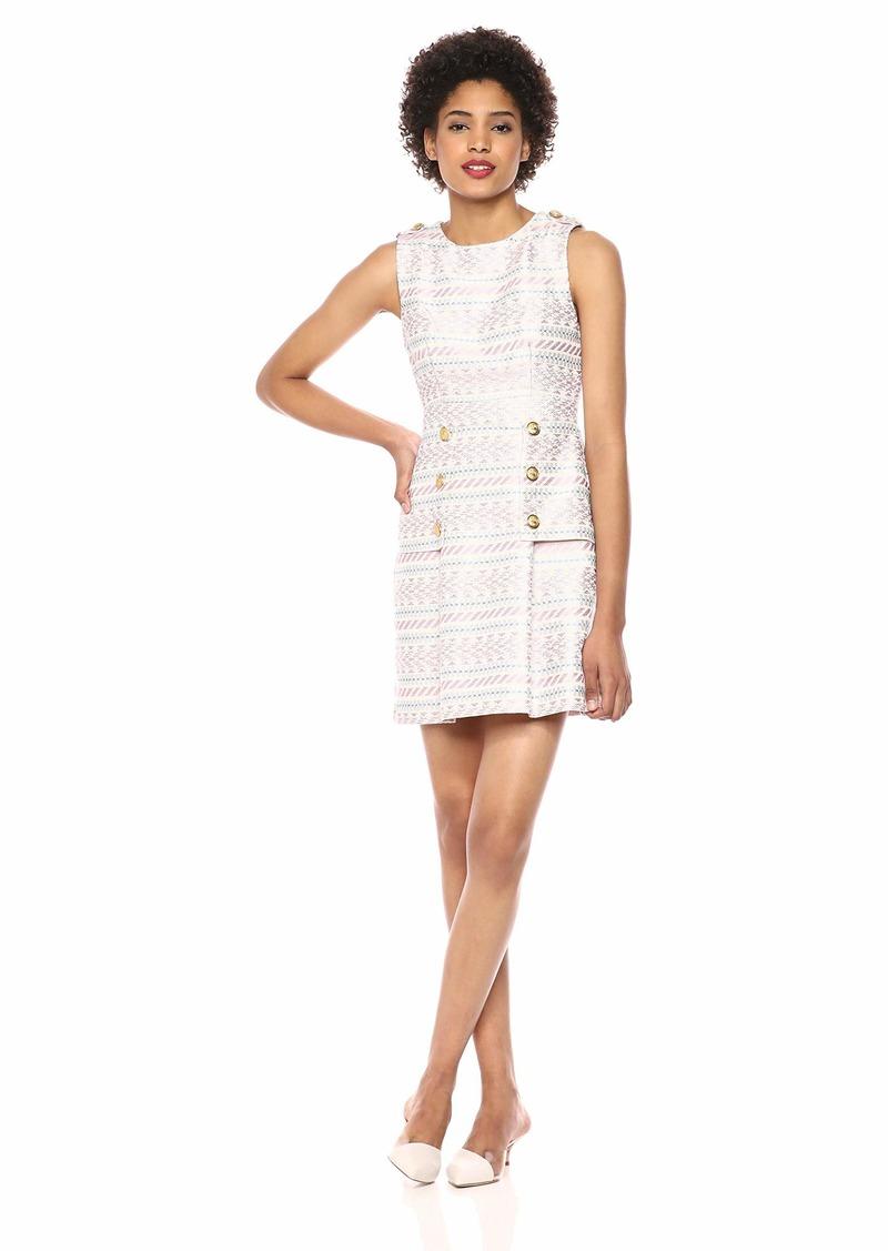 LAUNDRY BY SHELLI SEGAL Women's Geometric Print Dress