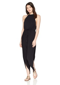 Laundry by Shelli Segal Women's High Neck Drape Jumpsuit  S