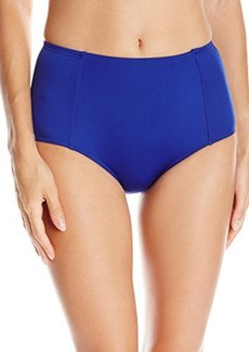 Laundry by Shelli Segal Women's High Waist Bikini Bottom  S