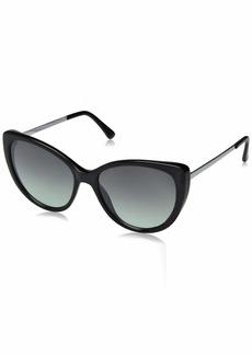 Laundry by Shelli Segal Women's Ls174 SMK Polarized Cateye Sunglasses