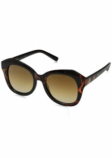 Laundry by Shelli Segal Women's Ls229 Ts Polarized Round Sunglasses