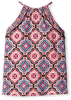 Laundry by Shelli Segal Women's Marrakesh Palace High Neck Tankini Top  S