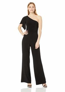 LAUNDRY BY SHELLI SEGAL Women's Matte Jersey Jumpsuit-Old  S