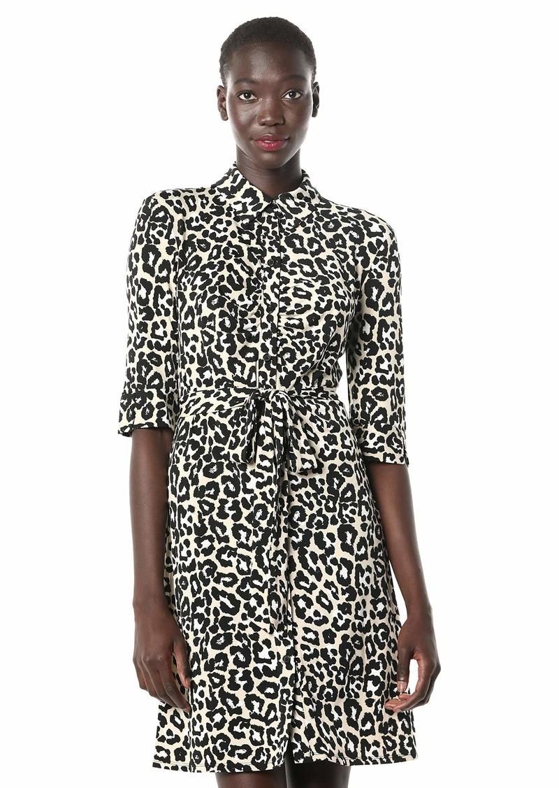 LAUNDRY BY SHELLI SEGAL Women's Matte Jersey Shirt Dress