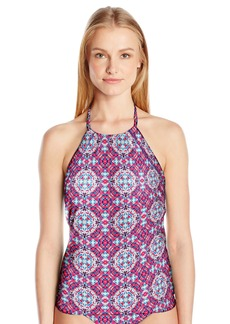 Laundry by Shelli Segal Women's Mayan Escape High Neck Tankini  S