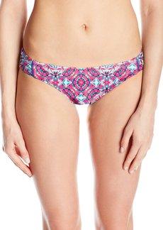 Laundry by Shelli Segal Women's Mayan Escape Tab Side Hipster Bikini Bottom  S