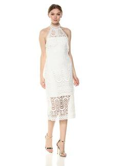 LAUNDRY BY SHELLI SEGAL Women's Mock Neck Dress