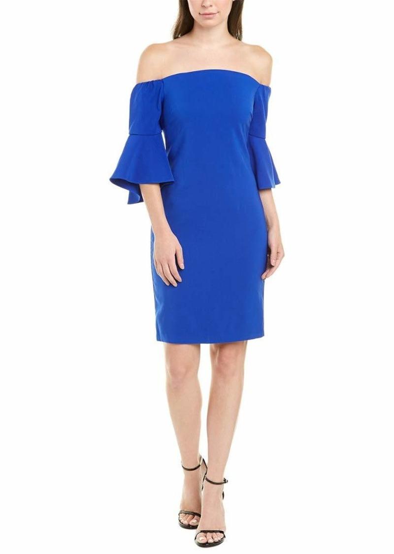 Laundry by Shelli Segal Women's Off The Shoulder Core Dress