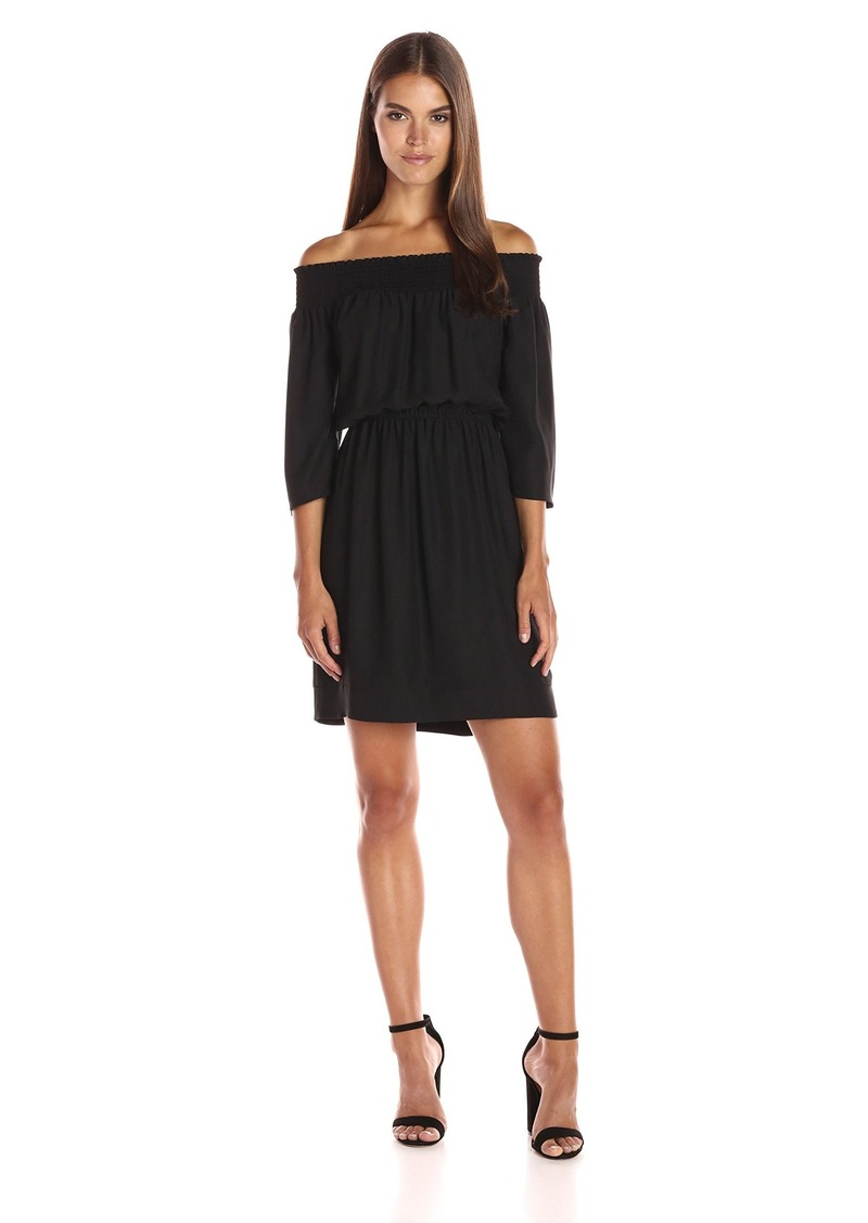 Laundry by Shelli Segal Women's Off The Shoulder Dress
