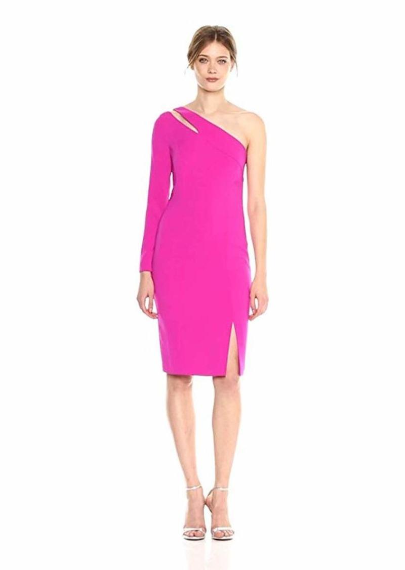 LAUNDRY BY SHELLI SEGAL Women's One Sleeve Crepe Dress