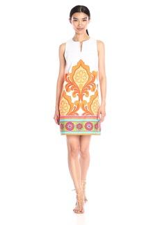 Laundry by Shelli Segal Women's Orange Door Dress