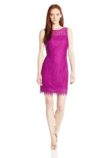 Laundry by Shelli Segal Women's Petite Sleeveless Maisy Lace Dress