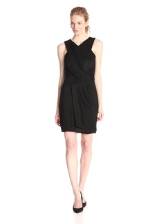 laundry BY SHELLI SEGAL Women's Pique Shine Cocktail Dress