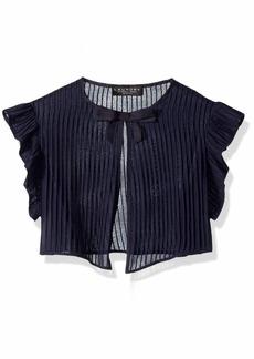 LAUNDRY BY SHELLI SEGAL Women's Pleated Ruffle Vest