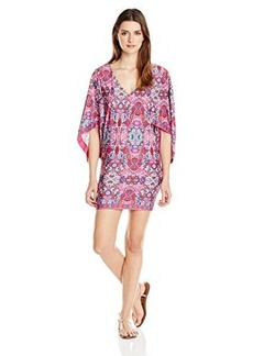 Laundry by Shelli Segal Women's Pretty Partridge Tunic Cover Up