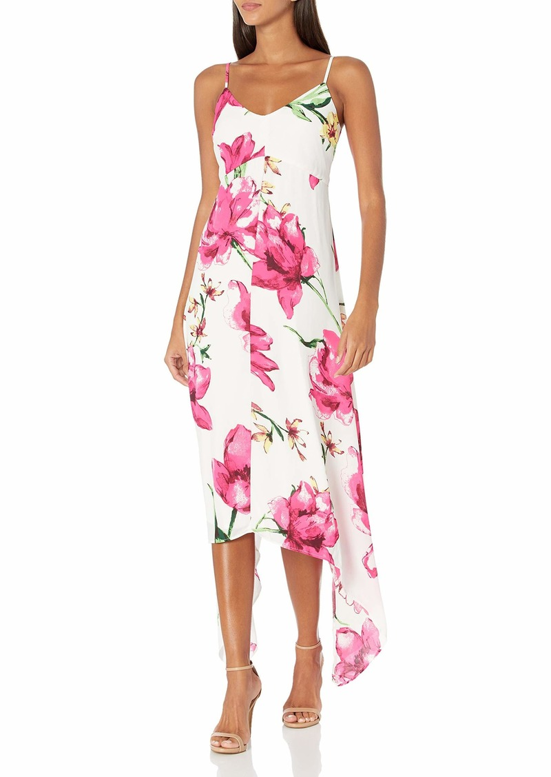 LAUNDRY BY SHELLI SEGAL Women's Printed Floral Maxi Dress