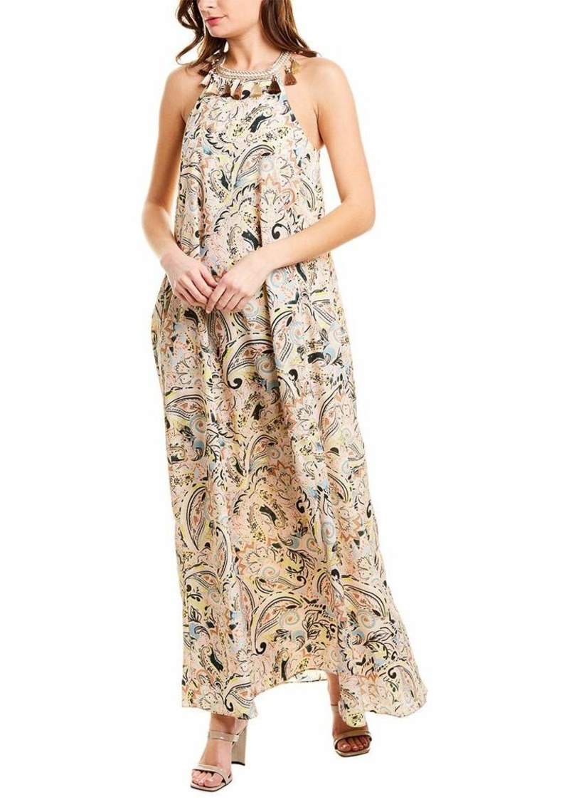 LAUNDRY BY SHELLI SEGAL Women's Printed Maxi Dress
