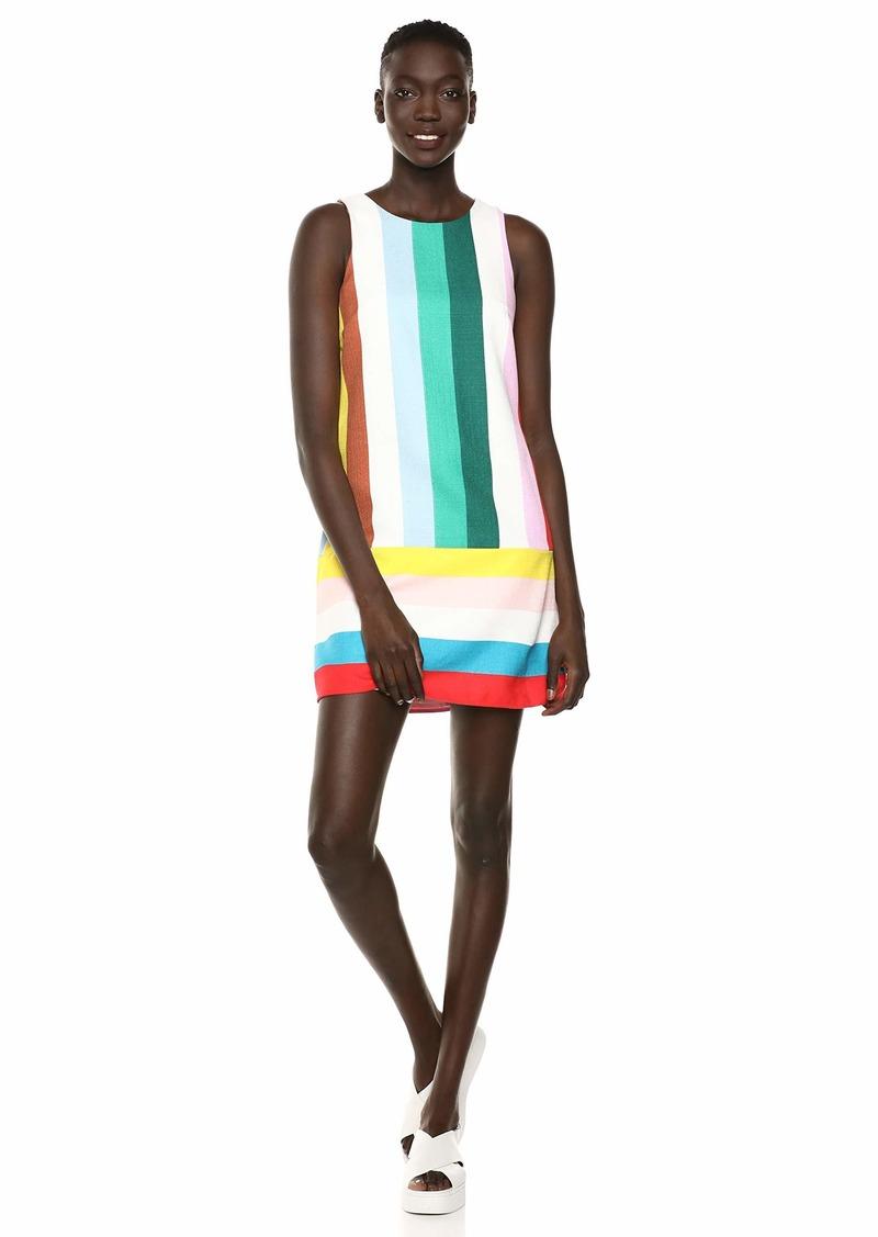 LAUNDRY BY SHELLI SEGAL Women's Rainbow A-line Dress