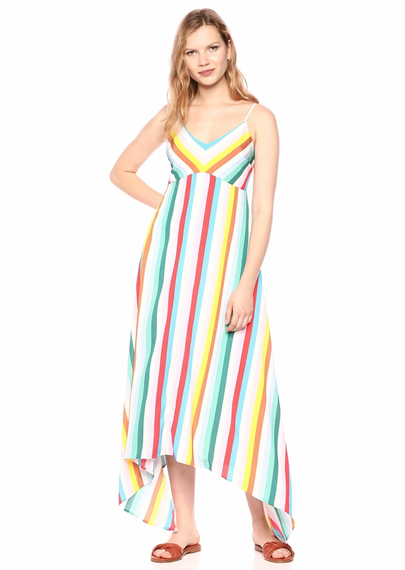 LAUNDRY BY SHELLI SEGAL Women's Rainbow Maxi Dress