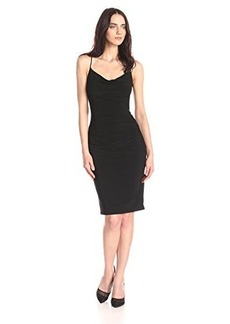 laundry BY SHELLI SEGAL Women's Skinny Strap Side Shirred Tank Dress