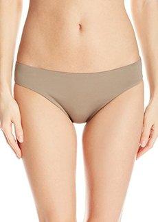 Laundry by Shelli Segal Women's Solid Hipster Bikini Bottom