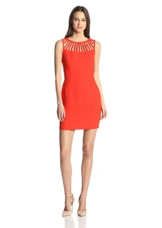 laundry BY SHELLI SEGAL Women's Stretch Crepe Dress