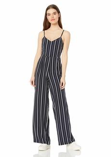 LAUNDRY BY SHELLI SEGAL Women's Striped Wide Leg Jumpsuit