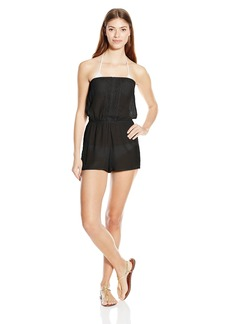 Laundry by Shelli Segal Women's Summer Bliss Cover up Bandeau Romper