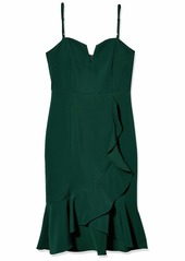 LAUNDRY BY SHELLI SEGAL Women's Sweetheart Ruffle Core Dress
