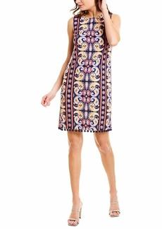 LAUNDRY BY SHELLI SEGAL Women's Textured Knit Dress