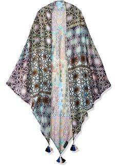 LAUNDRY BY SHELLI SEGAL Women's Tribal Triangle Scarf Wrap